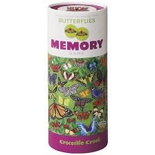 Детска мемори игра Crocodile Creek - Пеперуди, 36 части -1