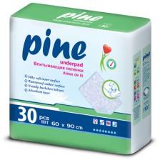 Чаршафи за еднократна употреба Pine, 60 х 90 cm, 30 броя  -1