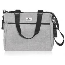 Чанта за количка Lorelli - Maya, Grey -1