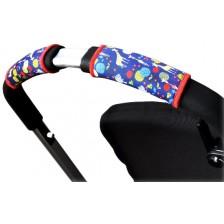 Покритие за дръжка на количка Choopie Single Bar - Сафари, 2 броя -1