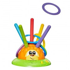 Chicco Музикален таралеж с рингове Mister Ring Fit and Fun -1
