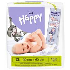 Чаршафи за еднократна употреба Bella Happy, 90x60, 10 броя -1
