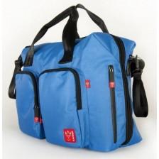 Чанта с отделение за лаптоп Kaiser Worker - Синя -1