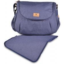 Чанта за количка Cangaroo - Naomi, синя -1