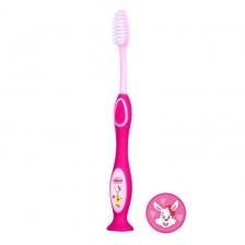 Chicco Четка за млечни зъби Момиче -1