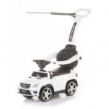 Chipolino Кола с дръжка/сенник Mercedes Benz GLE63 бял -1