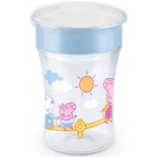 Чаша Nuk - Evo Magic Cup, Peppa, 230 ml -1