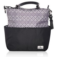 Чанта за количка Lorelli - Laura, Black -1