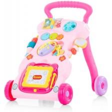 Музикална играчка за бутане Chipolino Funny - Розова