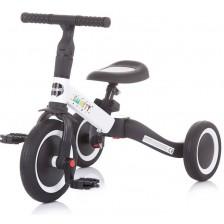 Триколка/ балансно колело Chipolino 2 в 1 Смарти - Бяло и черно -1