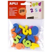 Комплект цифри APLI - Магнитни, 20 броя -1