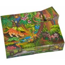 Дървени кубчета Eichhorn - Животни -1