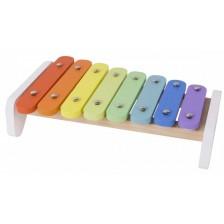 Дървена играчка Classic World - Ксилофон -1