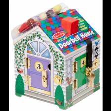 Дървена играчка Melissa & Doug - Къщата на доктора, с ключове -1