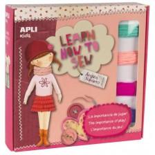 Творчески комплект APLI - Да се научим да шием -1