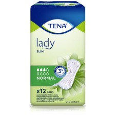 Дамски превръзки Tena Lady - Slim Normal, 12 броя  -1