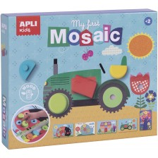 Дървена мозайка-сортер Apli - My first mosaic, 15 части -1