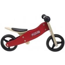 Дървено колело за баланс D'Arpeje Funbee - 2 в 1, червено -1