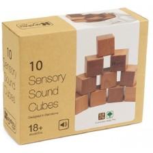 Дървена играчка Andreu toys - Сензорни кубчета -1
