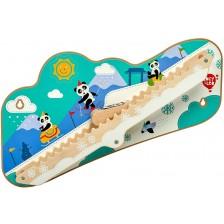Интерактивна играчка за стена Lucy&Leo - Зимно приключение -1