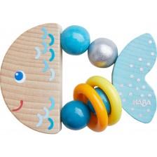 Дървена бебешка играчка Haba, Рибка -1