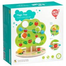 Дървена интерактивна игра Lucy&Leo - Ябълково дърво -1