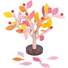 Дървена игра за баланс Pino - Ябълково дърво, Есен -1