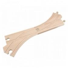 Дървен ЖП аксесоар Woody - К-образно разклонение, 2 броя -1