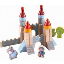 Дървени кубчета Haba - Замъкът на рицарите -1