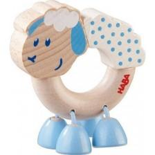 Дървена бебешка играчка Haba, Овчица -1
