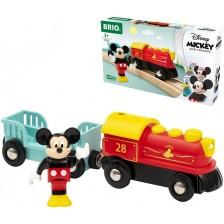 Дървена играчка Brio - Влакчето на Мики Маус -1