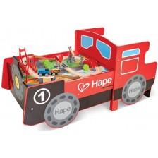 Дървено влакче за игра Hape -1
