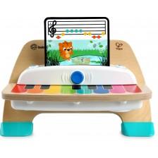 Дървена музикална играчка Hape - Сензорно пиано -1