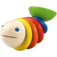Дървена бебешка играчка Haba, Моби -1