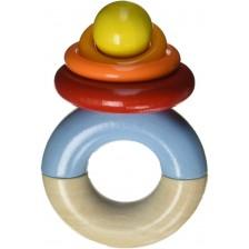 Дървена бебешка играчка Haba, Биберон -1