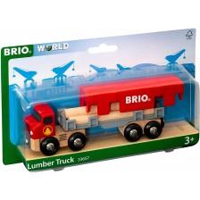 Играчка Brio Камион Lumber Truck -1