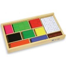 Дървени математически блокчета Andreu toys -1