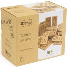 Дървено сензорно домино Andreu toys - Гигант -1