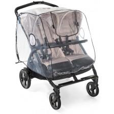 Дъждобран за количка за близнаци Reer - Rain Cover -1