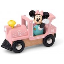 Дървена играчка Brio - Влакчето на Мини Маус -1