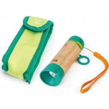 Дървена играчка Hape - Ръчно фенерче -1