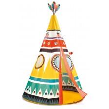 Детска палатка Djeco - Индианско типи -1