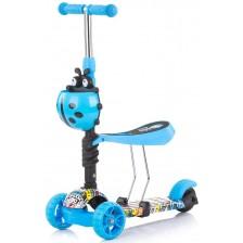 Детски скутер Chipolino - Киди Ево, цветни графити -1
