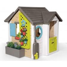 Детска къщичка Smoby - Garden House, 21 аксесоара -1
