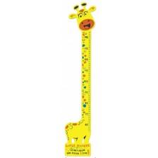 Детски метър за стена Sun Ta - Giraffe  -1