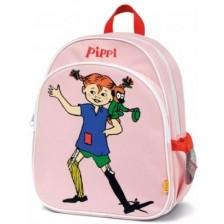 Детска раница Micki Pippi - Пипи Дългото чорапче, розова -1