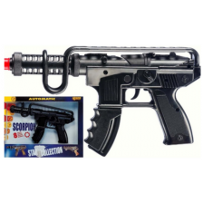 Детски картечен пистолет Villa Giocattoli Scorpion - С капси -1