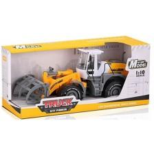 Детска играчка Ocie City Pioneer - Трактор с товарна щипка, 1:10 -1