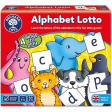 Детска образователна игра Orchard Toys - Азбучно лото -1