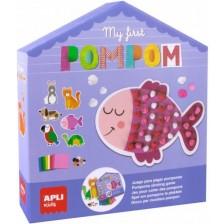 Детска игра Apli - Моятa първа Пом-пон игра -1